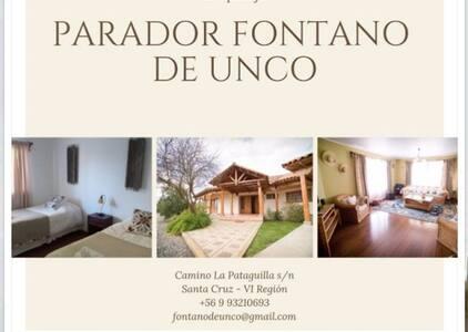 Fontano de unco, TU casa en el Valle de Colchagua.