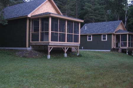 Barker Pond Cabins, a retreat from a busy world
