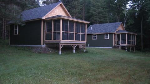 Barker Pond Farm Cabins; Spruce Cabin
