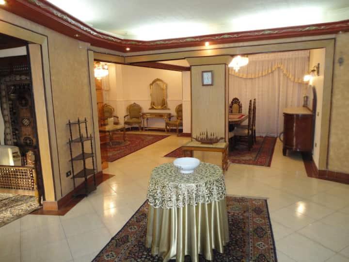 2 Rooms, 200m apartment, Heliopolis