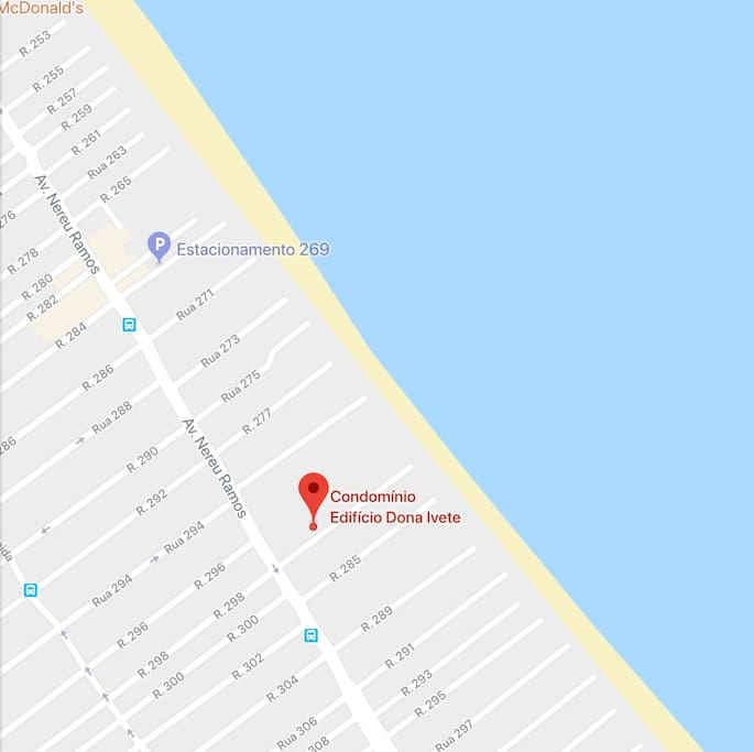Localizacao no Mapa