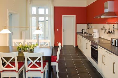 Rote Wohnung 109 für die Familie - Fürstenberg/Havel - Appartement