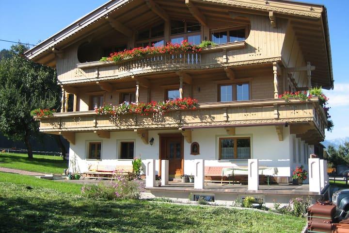 Comfortabel appartement in Tirol met een groot balkon