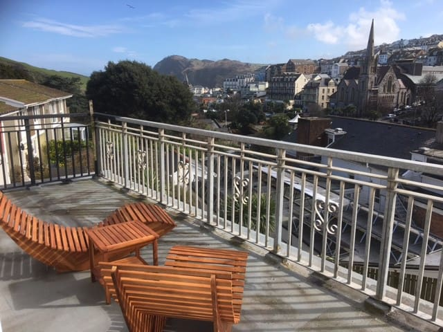 One bed Appartment panoramic views over Ilfracombe - Ilfracombe - Appartement