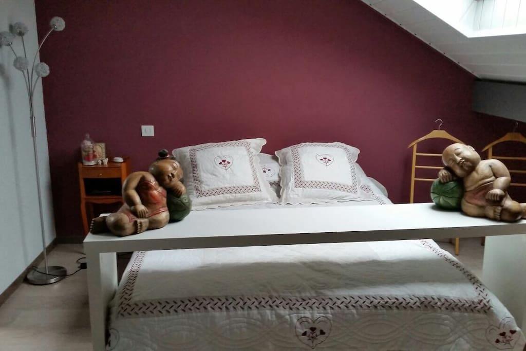 chaleureuse suite parentale 25m2 maisons louer sciez haute savoie france. Black Bedroom Furniture Sets. Home Design Ideas