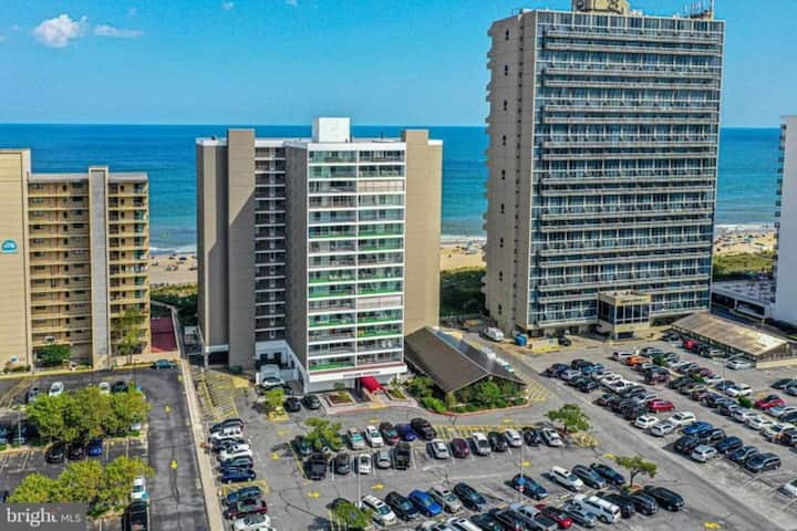 Beachfront Ocean View Condo Ocean City Maryland