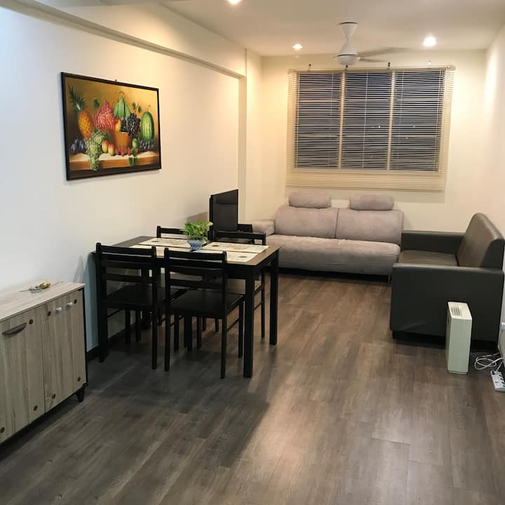 Cosy 3 rooms apartment at Bayan Lepas