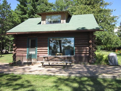 The Farm By The Lake - The Log Cabin