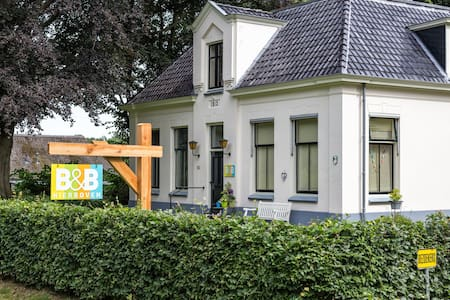 Bed and Breakfast Hierboven /kamer 2 - Wilhelminaoord