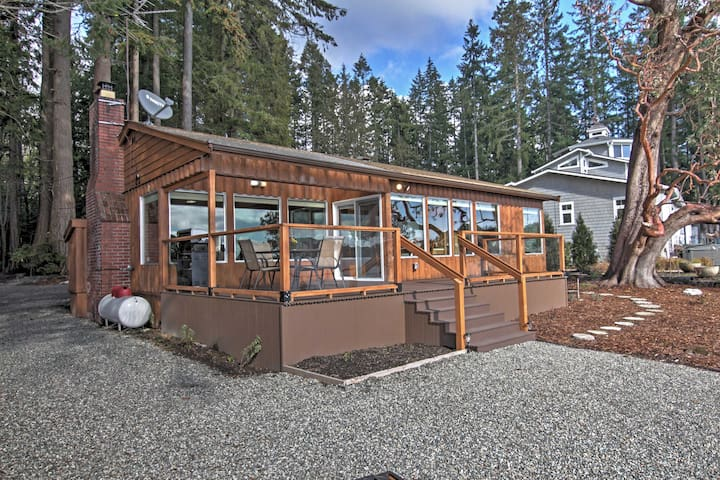2BR Poulsbo Waterfront House on Liberty Bay! - Poulsbo - House