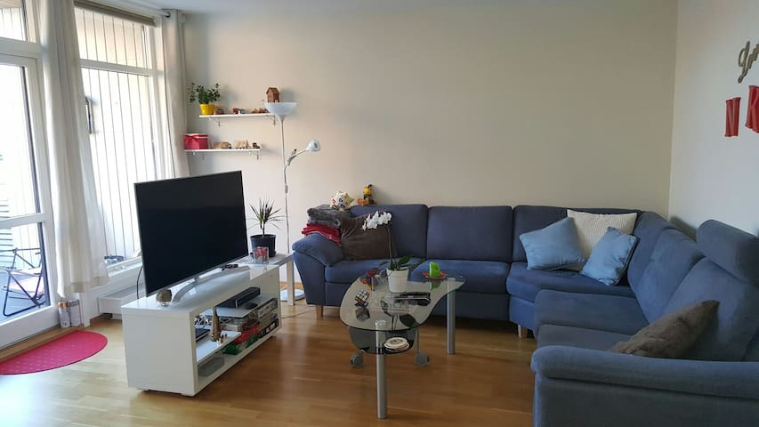 Cozy apartment, on top of the mall - Arendal - Flat