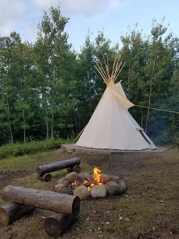 Your very own tipi near Walker!!!