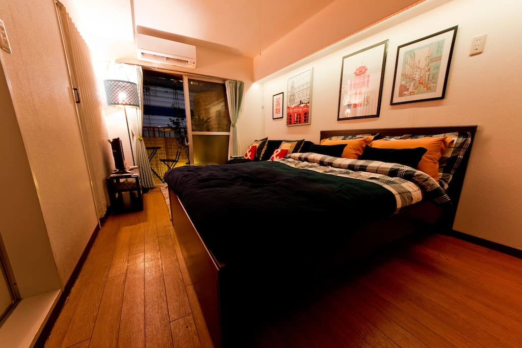 double bed and sofa for double bed