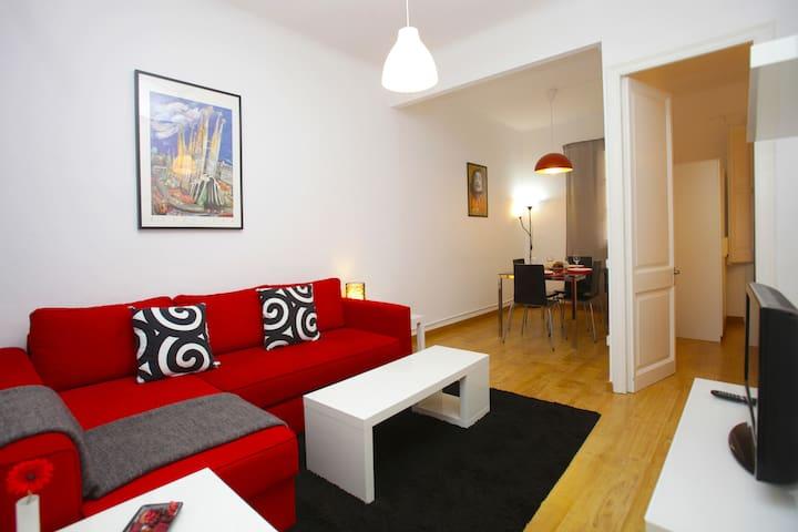 Sagrada Familia apartment for 4 - Barcelona - Pis