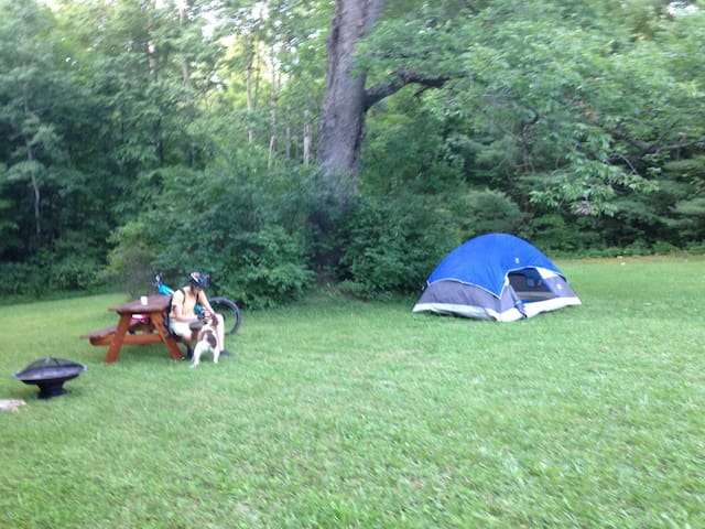Tent 4 Two near 20 mi. Hiking & Mtn Biking Trails