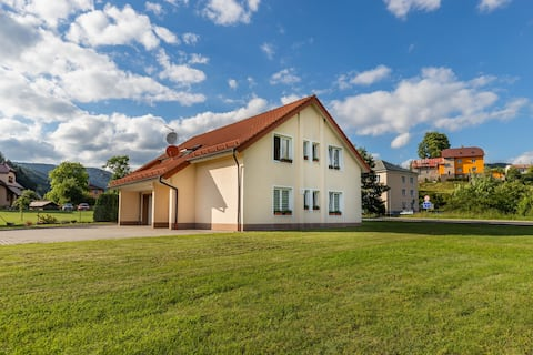 Comfortable accommodation in Ore Mountains