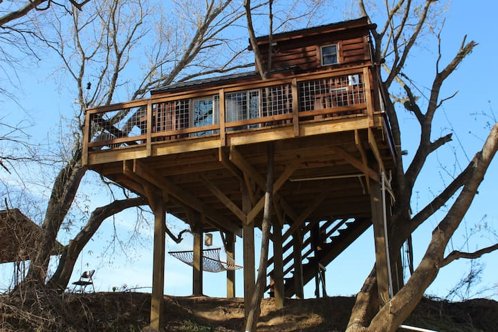 Rocky River Cotton Treehouse - Norwood - Treehouse