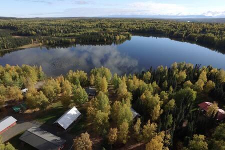 St. Theresa's Lakeside Resort Seldovia Cabin - Sterling
