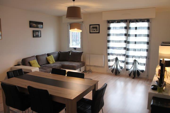 appartement spacieux proche centre et gare - Nantes - Leilighet