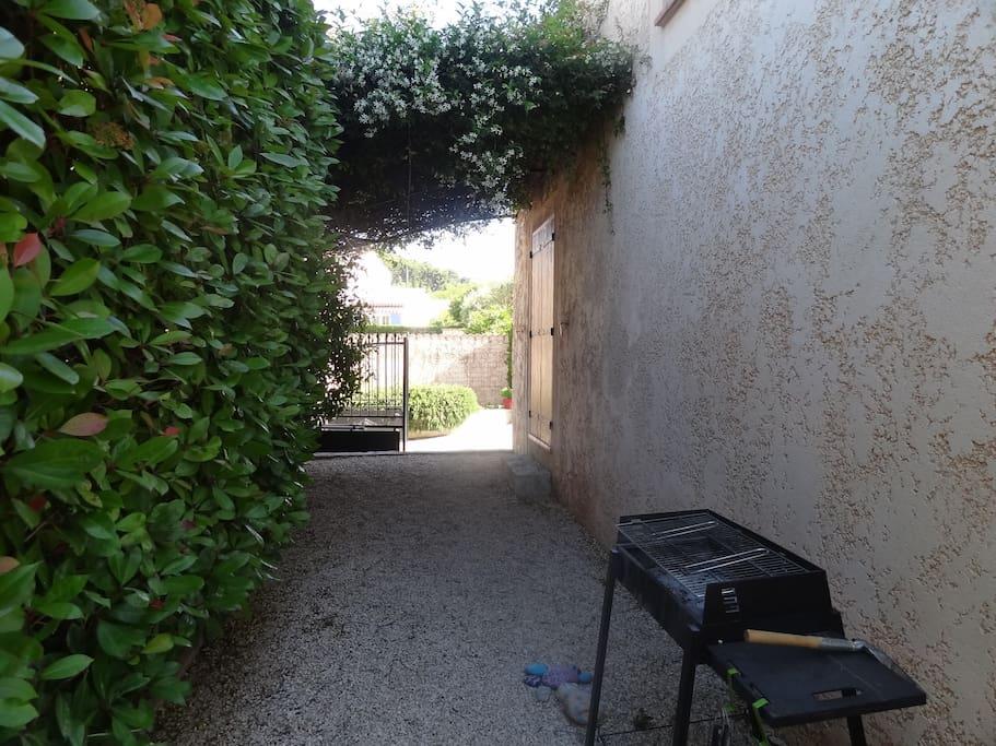 Espace barbecue