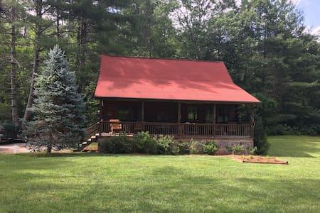 Log Cabin on Snowbird Creek -