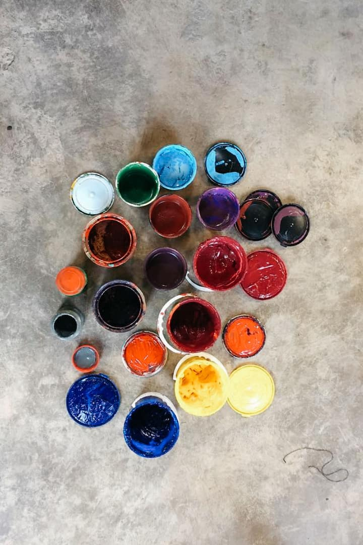 Some shades of inks