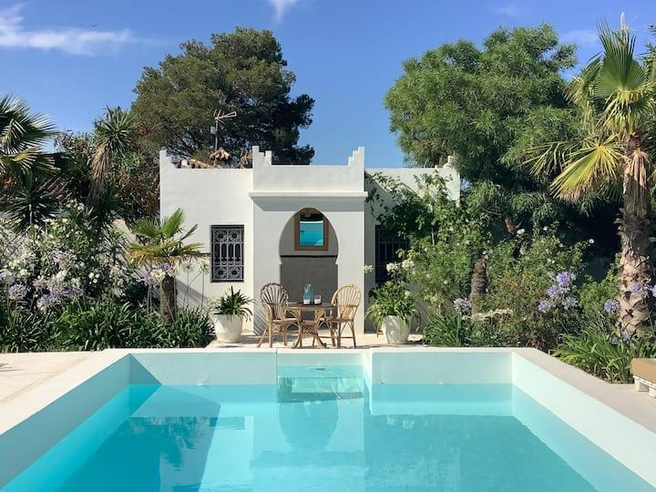 MAGNIFIQUE KASBAH ANDALUZ *piscine & jardin*