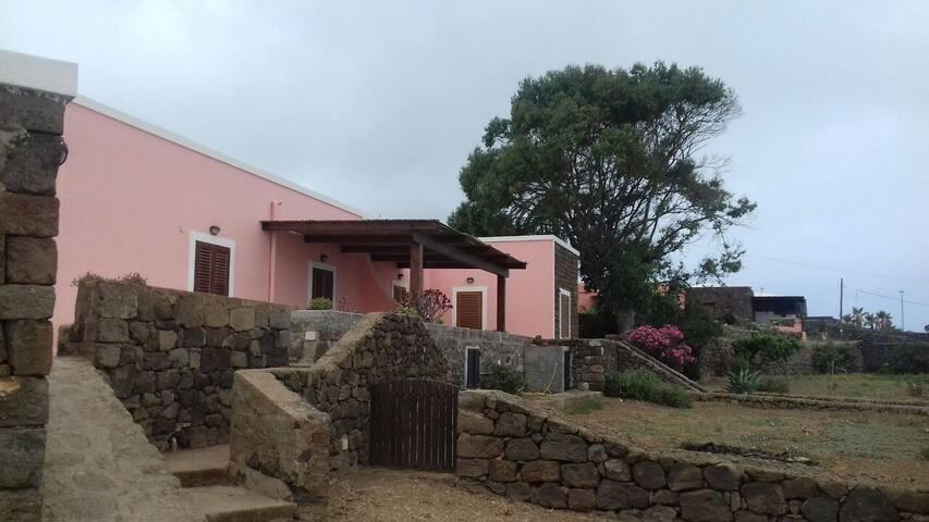 Maison typique de l'île de Pantelleria
