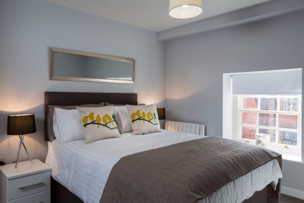relaxing double bedroom