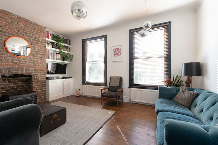 Large two bed flat with garden London Fields