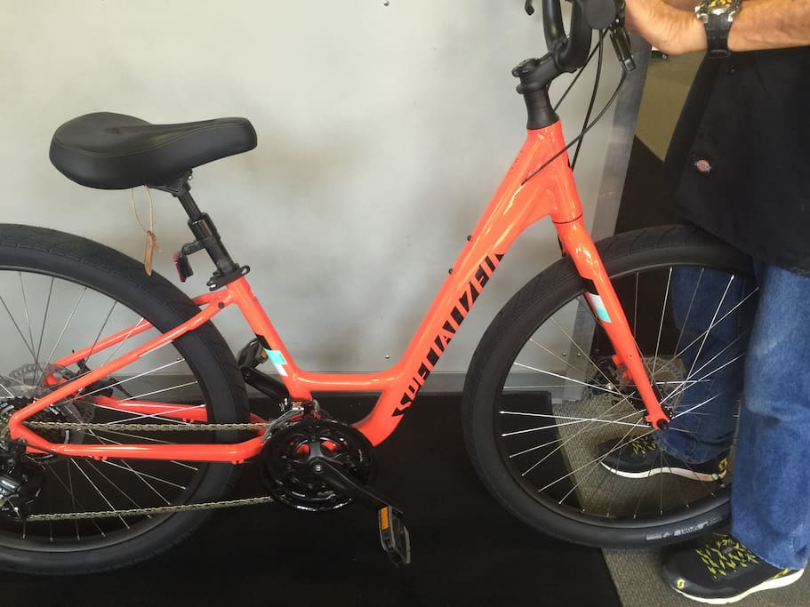 Bikes available for riding within the the gated community, on Oak Island or in downtown Southport.
