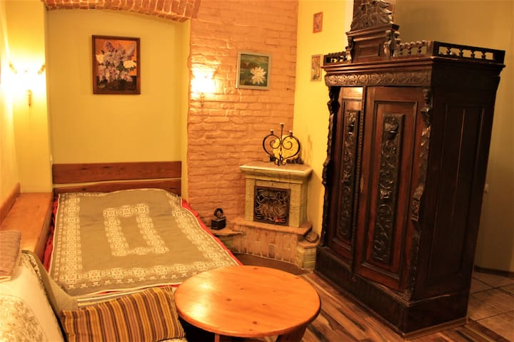 Two-bedroom apartment in the center of Lviv.