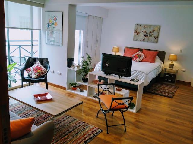 Beautiful new loft in bohemian Barranco