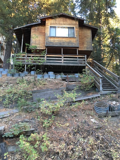 Running springs big bear cabin by the month chalet in for Noleggio cabina bigbear
