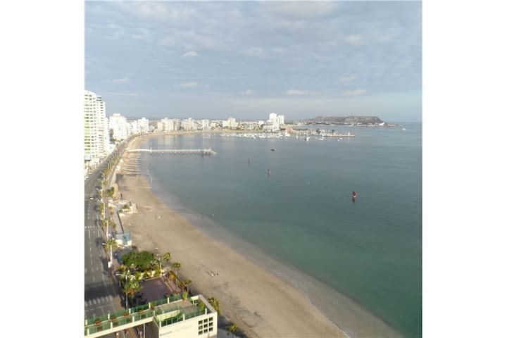 Studio apartment with ocean view - Salinas - Appartement