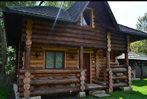 Tiny log cabin, beautiful view for nature lovers.