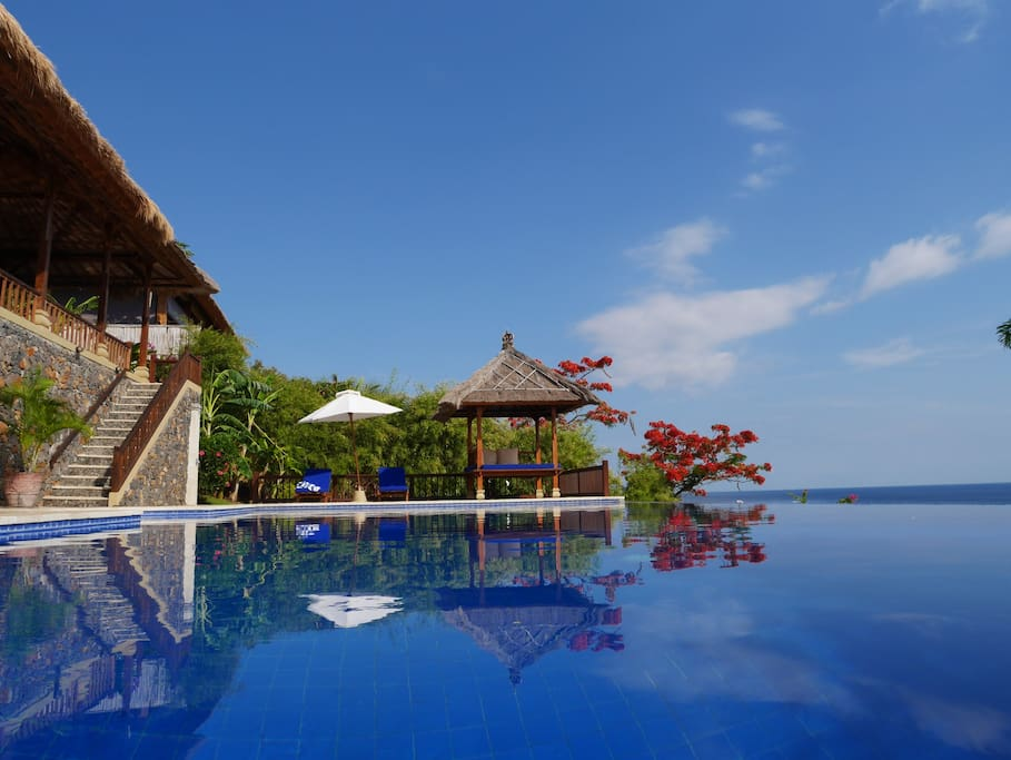 Villa Celagi ocean views, great pool..