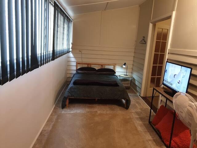 Bedroom 3 - Double Bed & TV