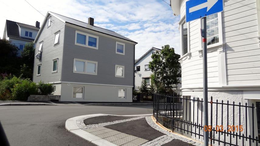 Sentral leilighet i Kopervik
