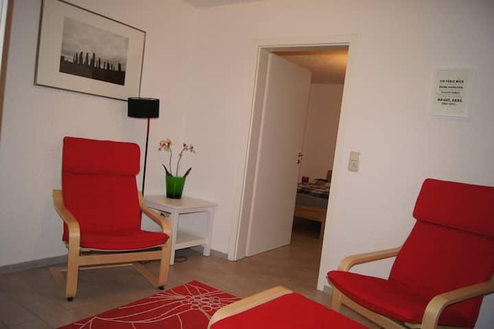 Ferienwohnung in Butzbach, zentral, neu renoviert!