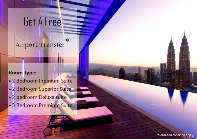 Plat#7: 2 Bedroom Premier Suites @ Platinum KLCC - Kuala Lumpur - Apto. en complejo residencial