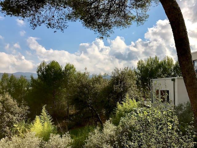 Appartement moderne et jardin, en Provence aixoise
