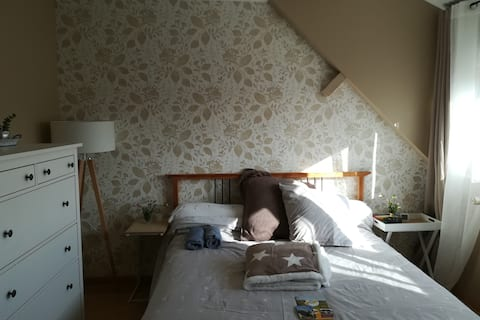 Bed breakfast  Argentan vue sur la ville Normandie