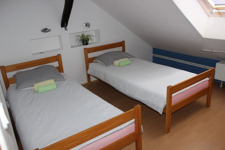 Private room for 2 in city centre - Osijek - Apartemen