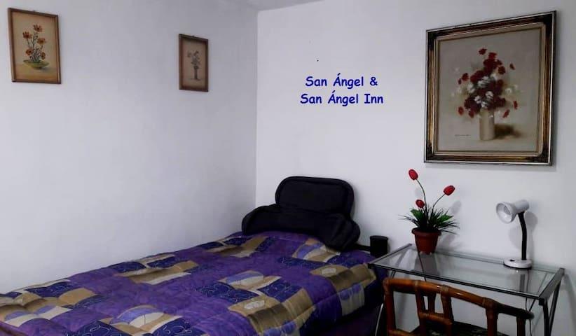 SAN ANGEL INN, picturesque area ( Room # 3 ).