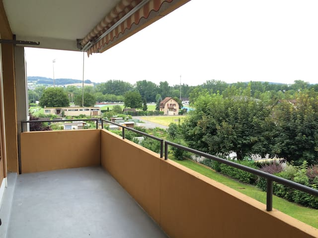 Whole apartment with 2 bedroom 2 beds near Zurich - Brugg