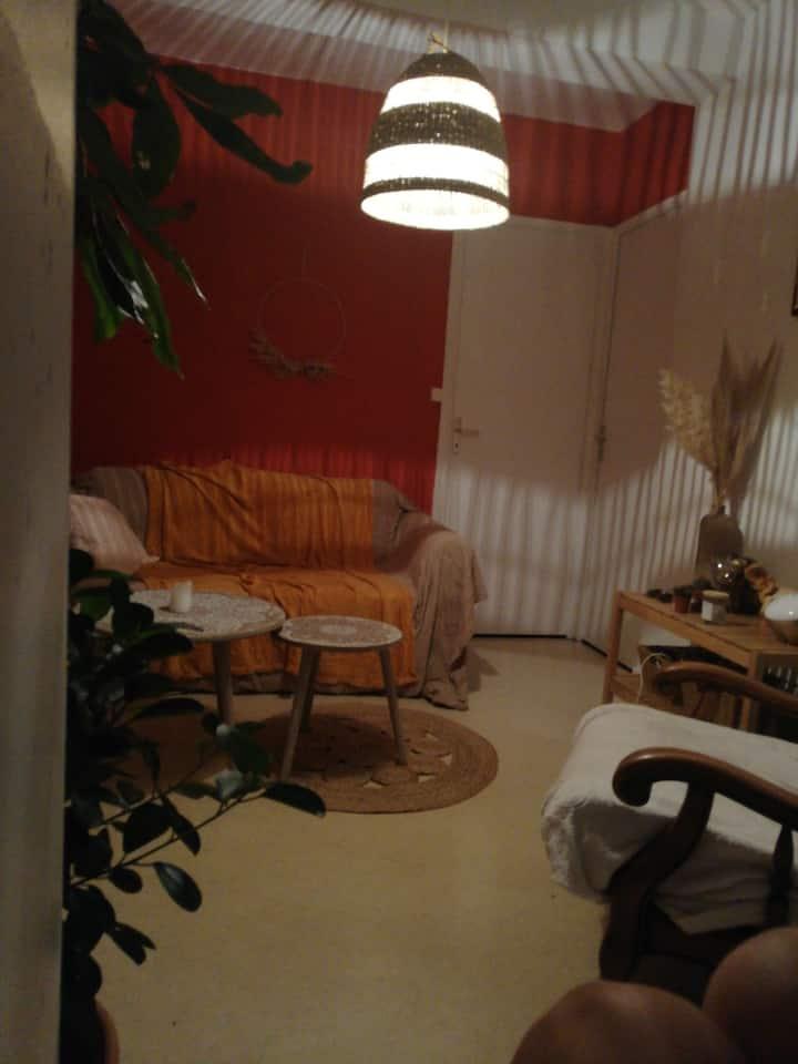 Appartement cosy et calme