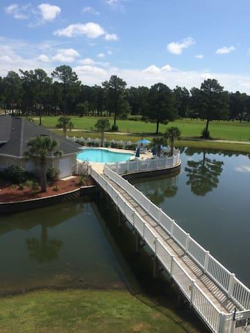 Condo with View of Island Pool - Calabash - Condo