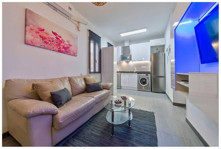 Magnifico piso de un dormitorio, en Madrid Centro.