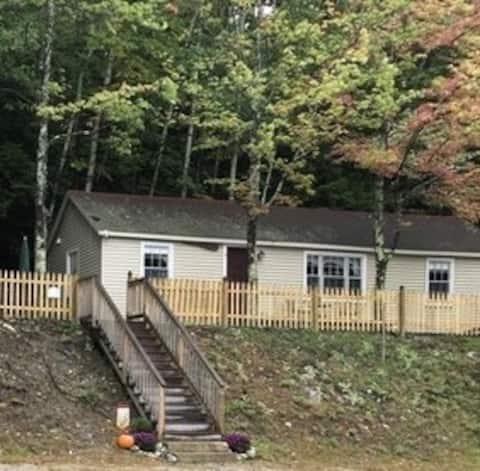Lake view cottage #1 in Alton Bay on Winnipesaukee